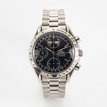 Omega, Speedmaster, Day-Date, wristwatch, chronograph, wristwatch, 39 mm.
