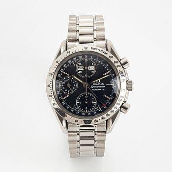Omega, Speedmaster, Day-Date, armbandsur, kronograf, armbandsur, 39 mm.