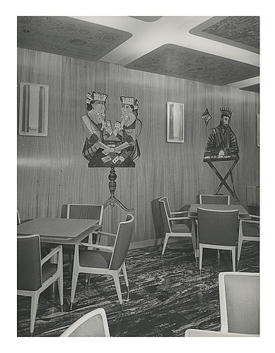 Gio ponti, & piero fornasetti, a unique cabinet, executed for the ms guilio cesare, italy ca 1951.
