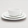 Timo sarpaneva, a 37-piece 'suomi' tableware set in porcelain, rosenthal studio-linie, 2000s. design year 1976.