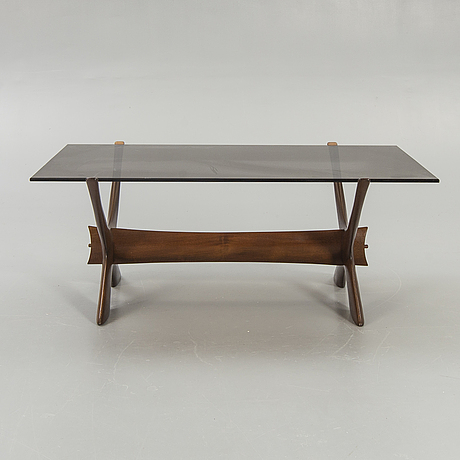"Fredrik schriever-abeln, coffee table, ""no. 9"", örebro glasindustri, model launched in 1967."