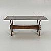 "Fredrik schriever-abeln, soffbord, ""nr 9"", örebro glasindustri, modell lanserad 1967."