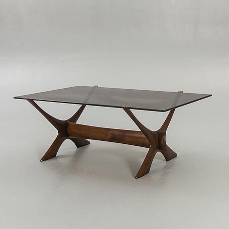 "Fredrik schriever-abeln, coffee table, ""no. 9"", örebro glasindustri, model launched in 1967."