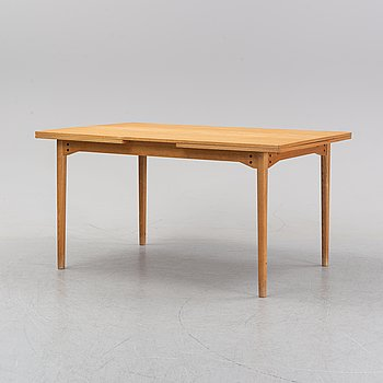 An oak dining table, 1960's.