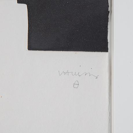Eduardo chillida, etching and aquatint, signed v/v pa.
