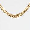 18k gold necklace.