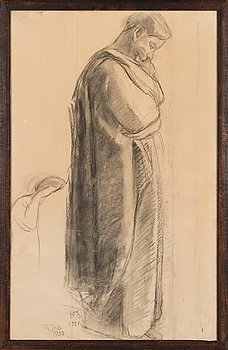 Hanna Frosterus-Segerstråle, drawing, signed and dated 1925.