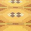 Ingegerd silow, a carpet, flat weave, ca 201,5 x 133 cm, signed is.