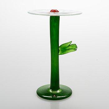 Kerttu Nurminen, A glass sculpture signed Kerttu Nurminen Nuutajärvi.