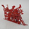 David gerstein, sculpture, signed and numbered 1/95.