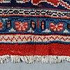 A carpet, sarouk, ca 409 x 268 cm.