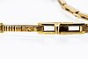 Bracelet 18k gold 1 cultured pearl 8 rose-cut diamonds, ca 18 cm.