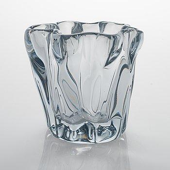 Tapio Wirkkala, A vase glass  'Kalvolan kanto', signed Tapio Wirkkala - 3241.