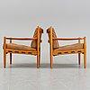 Ingemar thillmark, a pair of 'läckö' easy chairs, ope.