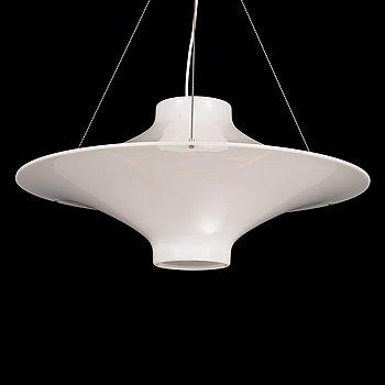 """Yki Nummi, ceiling lamp, """"Lokki"""" / """"Skyflyer"""", model 64-445, Stockmann Orno, designed 1960."""