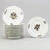 A 19th century 42-pcs porcelain dinner set, berlin.