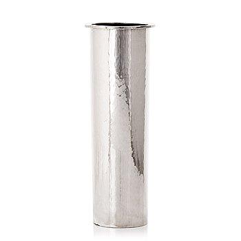 190. Bo Klevert, a sterling silver vase, Stockholm 1994.