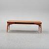 Johannes andersen, a teak coffee table, trensum, 1960s.