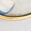 Jacob axel gillberg, miniatyr. signerad och daterad 1818.