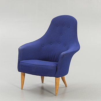 "Kerstin Hörlin-Holmquist, armchair, ""Stora Adam"" from ""Paradiset""."
