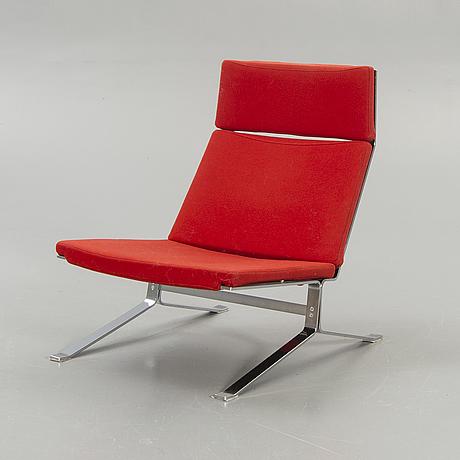 Armchair, bolia, chrome, contemporary.