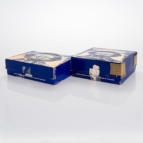 """Tapio wirkkala, glasservis, 50 delar, """"tapio"""", modell 2101, iittala."""
