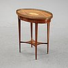 A composite sewing table, gustavian style, 19th and 20th century.