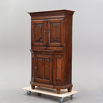 A Gustavian cabinet, end of the 18th Century.