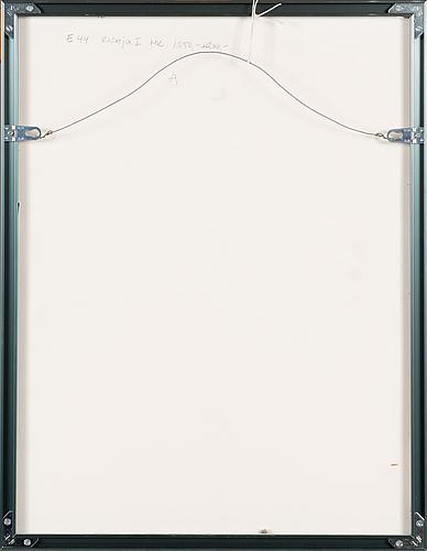 Inari krohn, etsning, signerad och daterad 1985, numrerad 90/100.