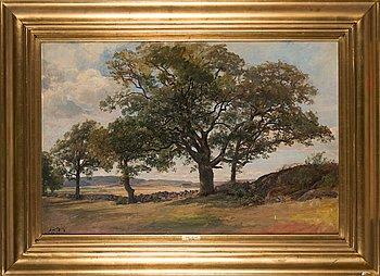 Berndt Lindholm, The big oak.
