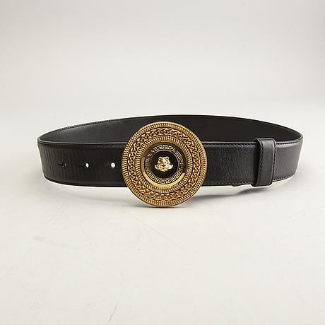 Versace, belt, italy.