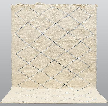 A carpet, morocco, ca 345 x 240 cm.