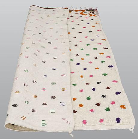 A rug, morocco, ca 223 x 155 cm.