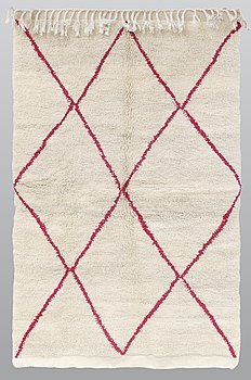 A rug, Morocco, ca 193 x 119 cm.