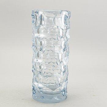 Asta Strömberg, a signed glass vase.