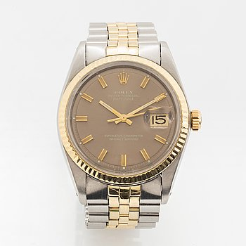 "Rolex, Oyster Perpetual, Datejust, ""Sigma Dial"", armbandsur, 36 mm."