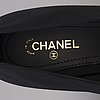 High heels by chanel, size 39 c.