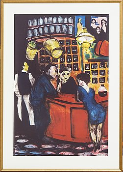 Peter Dahl, Peter Lithograph, signed and numbered 301/375.