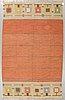 A carpet, flat weave, ca 249,5 x 154,5-160 cm, sweden around the 1920s-1930s.