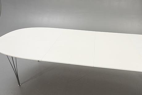 """Bruno mathsson & piet hein,  table, """"superellips"""", fritz hansen 1989."""