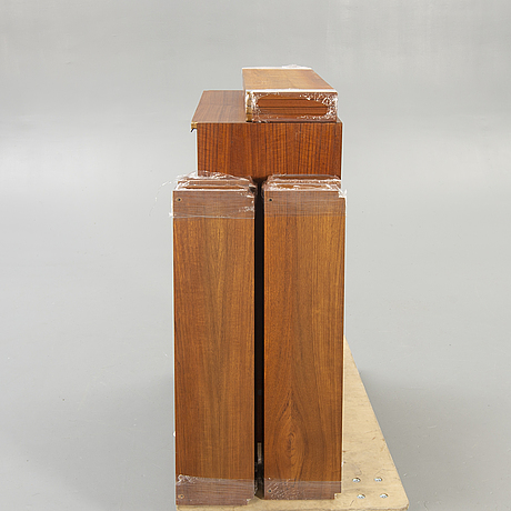 "A 1960s poul cadovius, ""royal system"" teak bookshelf."