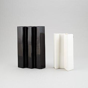 Two stoneware vases by Karin Björquist, Gustavsberg.