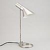 "Arne jacobsen, a table lamp ""aj"", louis poulsen, denmark."