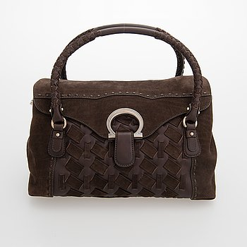 Salvatore Ferragamo, handbag.