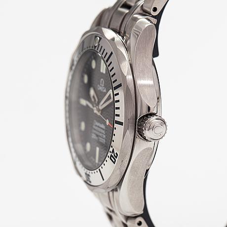 Omega, seamaster, 300m, wristwatch, 37 mm.