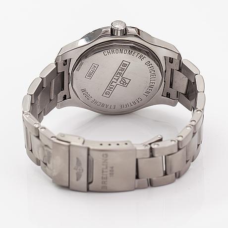 Breitling, colt, wristwatch, 44 mm.
