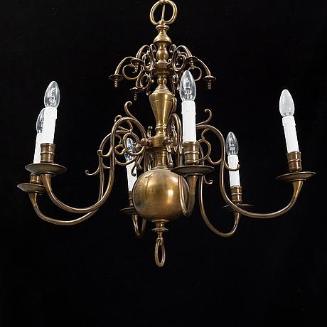 Ljuskrona, barockstil, 1900-tal.
