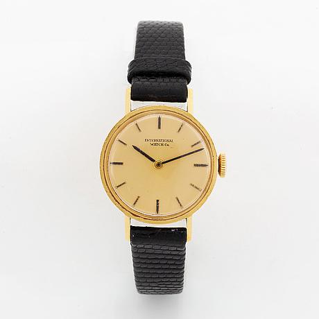 International watch co, wristwatch, 21 mm.