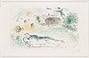 """Marc chagall, """"lovers at the ishbah""""."""