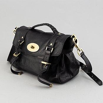 Mulberry, a black leather 'Alexa' bag.